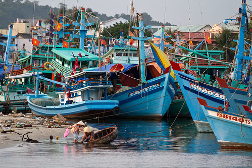 The harbour, Phu Quoc Island