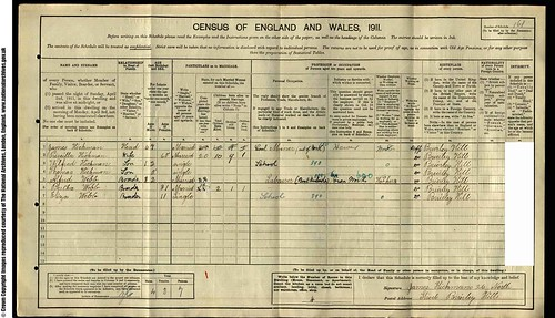 1911Census-JamesHickman1845