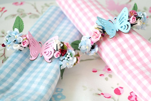 Pretty Butterfly Napkin Holders