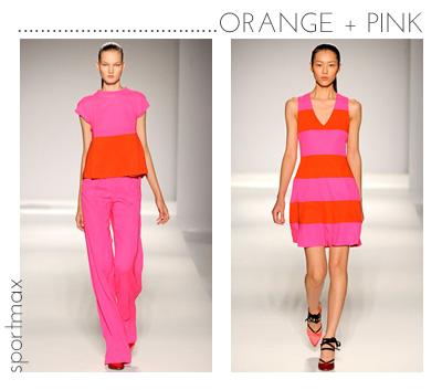 1 orange pink