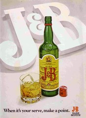J & B RARE (old school paul) Tags: vintage ads alcohol whisky scotch 1980 adverts jbrare