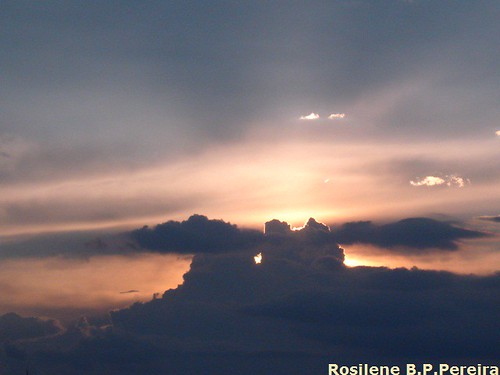 pôr do sol em Sorocaba dia 27/03/11 by Rosilene Brandão