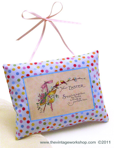 Easter Hanging Pillow