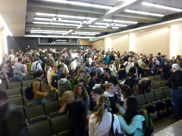 P1090208-2011-03-30-Hinman-Building-Opening-Lecture-End-Crowd
