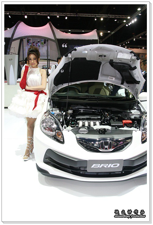 Bangkok International Motor Show 2011 - Honda Sexy Models / Show Girls