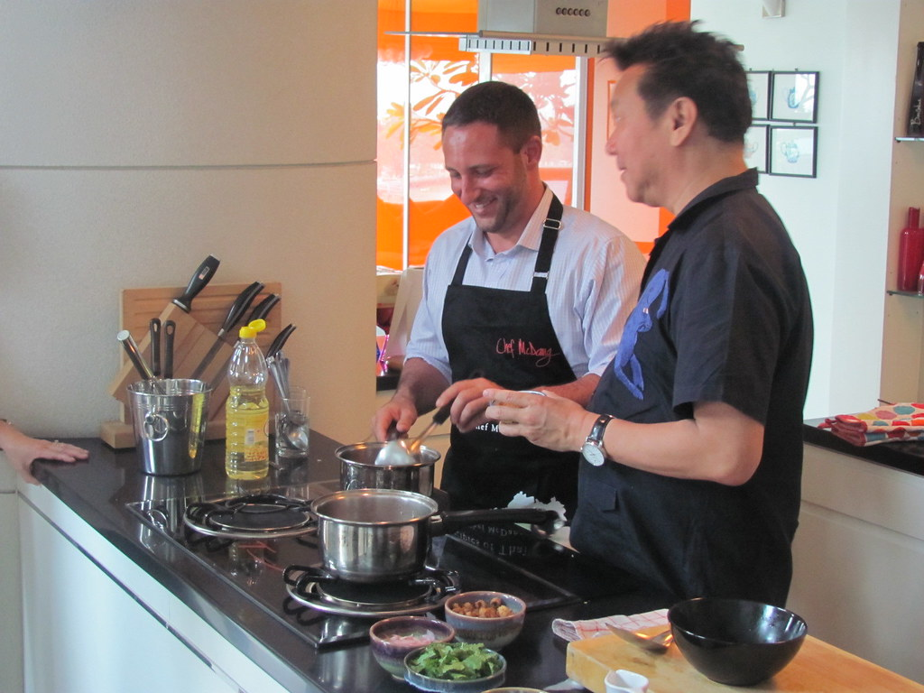 Chef David Gilbert. Chef McDang. Cooking Thai Food Recipes. Beyond the Kitchen