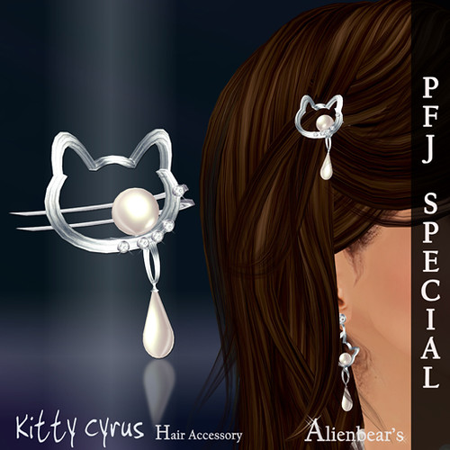 PFJ Kitty Cyrus Hair accessory