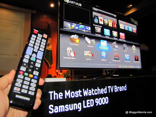 Samsung LED9000 Smart TV