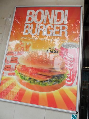 Oporto's Chinatown Bondi Burger Poster