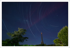 My lucky star II (Eloy RICARDEZ LUNA) Tags: tower night star noche photo torre tour eiffeltower eiffel toureiffel torreeiffel getty bluehour nuit estrella nightpicture toile startrail heurebleue photodenuit horaazul fotodenoche gettyimagesfranceq1 848576a4eaf94ad19b6dfe6a284a4621