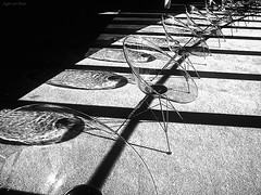 Light and Shade (y2-hiro) Tags: light bw art chair shade ricoh abstrac grd2