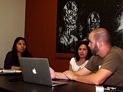 Chase shares tips on online job searchin by Gangplank HQ, on Flickr