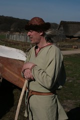 Berufswikinger vom Wikinger Museum Haithabu - Reinhard Erichsen WHH 02-04-2011