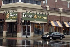 Panera Cares Dearborn branch (from Simon Mainwaring, We First)