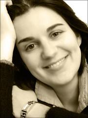 ...portrait (Alessandro ;-)) Tags: portrait woman girl blackwhite bn bianconero alessandroconti