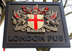 London Pub (knightbefore_99) Tags: street uk england beer sign bar vancouver chinatown main craft nos camra londonpub dirige domine