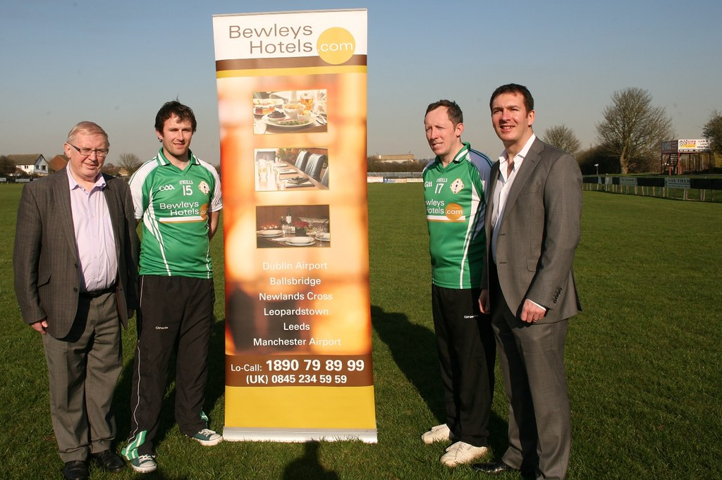 Moran and Bewley's Hotel Group Sponsors London GAA Football and Hurling Teams