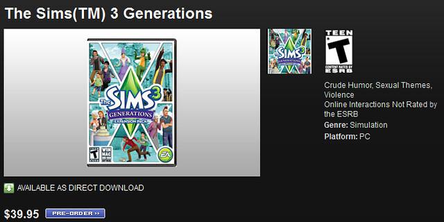 The Sims Gerações - Novidades 5596237823_e8960bfbe5_z