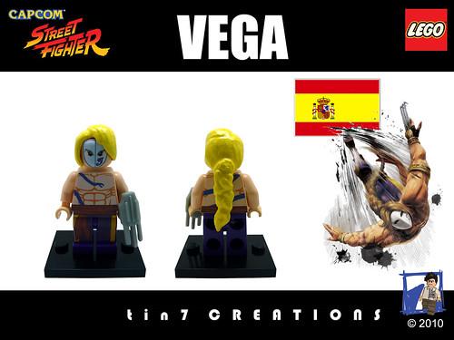 Custom minifig #12 - Vega custom minifig