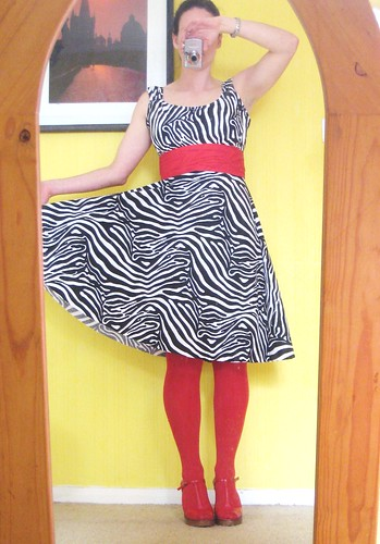 Zebra Sis Boom Jamie dress skirt