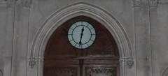 Marseille (Bouches du Rhône): abbaye Saint Victor (Marie-Hélène Cingal) Tags: france clock church marseille iglesia paca chiesa horloge 13 église abbaye abbayesaintvictor bouchesdurhône sudest