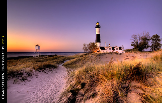 Twilight at Big Sable Point Lighthouse