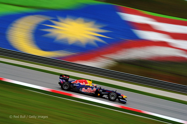 Mark Webber  Red Bull RB7 F1 Sepang