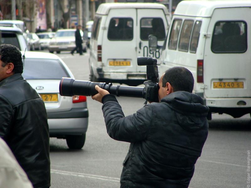 Photographer Gagik Shamshyan