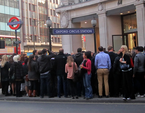 Oxford Circus Tube 2011