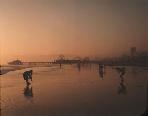 John Humble, View North Toward Santa Monica Pier, Santa Monica, September, 1996