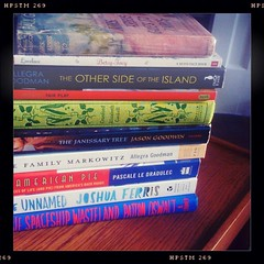 Read-a-Thon stack