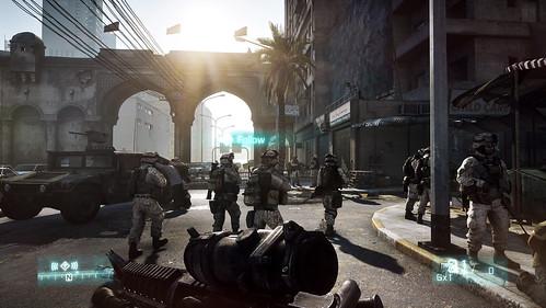 Battlefield 3 Staging Area