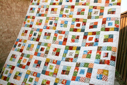 Layer Cake Tulip Quilt