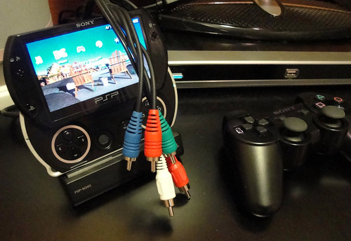 AV PSP Cable for External Monitor