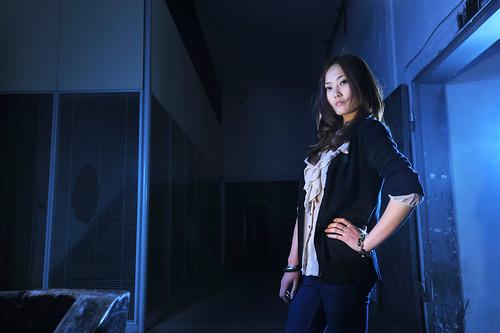 [フリー画像] 人物, 女性, アジア女性, ファッション, 201104131500