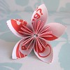 Paper Flower Made From Security Envelope