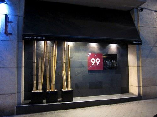 Exterior del local - 99 Sushi Bar (Ponzano) Madrid