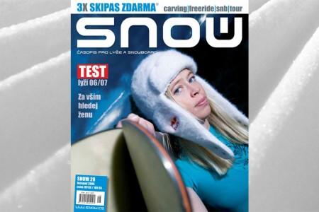 SNOW 28 - 3x SKIPAS ZDARMA
