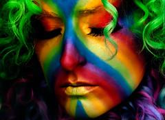 Day 133 of 365 - Year 2 (wisely-chosen) Tags: selfportrait me rainbow april canon50mmf18 pinkhair bluehair greenhair cameraraw 2011 365days lavenderhair naturallycurlyhair manicpanicredpassion coastalscents88ultrashimmereyeshadowpalette manicpanicultraviolet manicpanicshockingblue manicpanicelectricbanana curlformers adobephotoshopcs5extended ardellfashioneyelashes111 duoclearwhitewaterproofeyelashadhesive bennyecosmicbluelumieregrandecolour bennyetangerinelumieregrandecolour bennyesunyellowlumieregrandecolour bennyecherryredlumieregrandecolour herbalessencestouslemesoftlyconditioner proclaimarganoilhairoiltreatment itsa10miraclehairmask