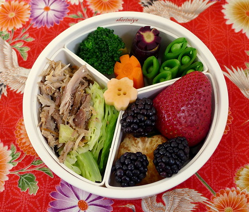 Kalua Pork and Cabbage Bento by sherimiya ♥