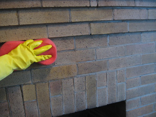 How to Wash Old Brick » Decor Adventures