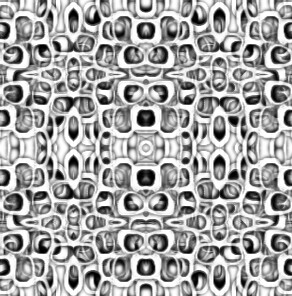 sychedelic Deco Pattern-