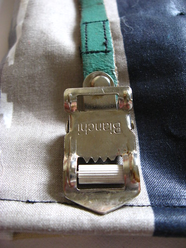 vintage bianchi strap as closure