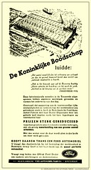 Ford LC-1935/10/03 - De koninklijke boodschap luide... (Arjan N / PE1GVK) Tags: old ford amsterdam vintage magazine ads advertising factory ad retro advertisement nv ilustration fabriek 1935 vintageadvertising nederlandsche vintageads automobiel dutchmustang fordfabriek