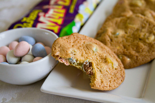 Cadbury Mini Egg Chocolate Chip Cookies - 3