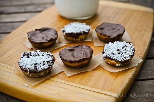 ... butter cookie tart crust peanut butter honey tart with ganache glaze