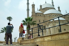 red scarf (andreaffm) Tags: egypt cairo mosqueofmuhammadali