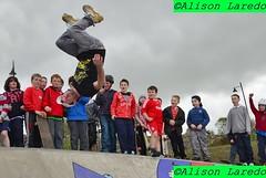 Opening of Westport Skatepark by Alison Laredo (alison laredo) Tags: ireland skateboard mayo inline trick westport skates stunt wwwalisonlaredocom 15thapril2011 westportskatepark