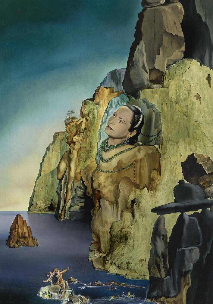[ D ] Salvador Dalí - Princess Artchild Gourielli-Helena Rubinstein (1943)