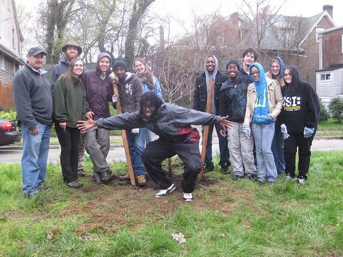 Spring '11 Tree Tender Planting 4